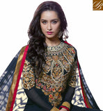 Shraddha Kapoor Black Anarkali Dress