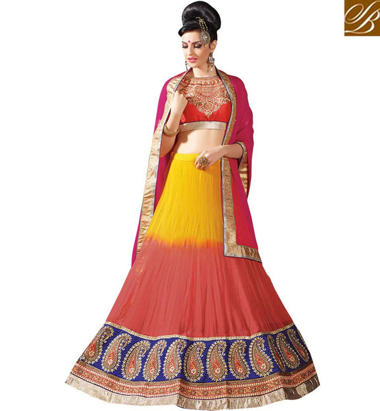 STYLISH BAZAAR PRESENTS ELEGANT WEDDING WEAR LEHENGA CHOLI DESIGN RTJS1144