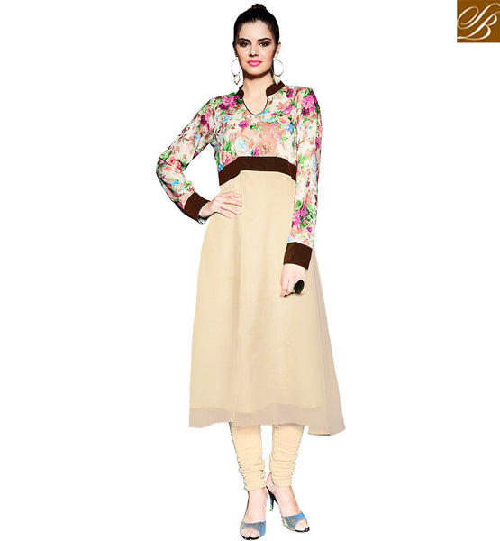STYLISH BAZAAR PRESENTATION STUNNING DIGITAL PRINTED PAKISTANI SYLE KURTI DESIGN RTPTY115