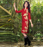 LINEN KURTIS ONLINE SHOPPING WITH FREE CASH ON DELIVERY IN INDIA