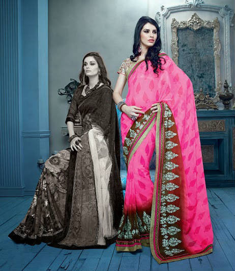 Latest Designer Sarees Shopping