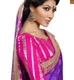 STYLISH BAZAAR SMART LOOKING CASUAL WEAR DESIGNER SARI BLOUSE DESIGN RTSWA11812