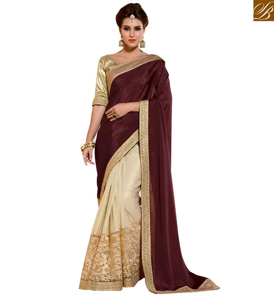 STYLISH BAZAAR PRESENTS RESPLENDENT DESIGNER PRINTED SARI DESIGN FOR PARTIES RTANT118