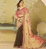 DESI BEAUTY ZARINE KHAN IN SAREE LATEST DESIGN PARTY WEAR SAREE