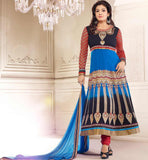 Indian bollywood style party wear anarkali suits by raveena tondon