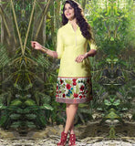 TUNIC TOPS ONLINE SHOPPING INDIA COOL NEW FLORAL EMBROIDERY DESIGN