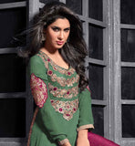 DESIGNER STRAIGHT LONG KURTI TYPE KAMEEZ AND LATEST PANT STYLE