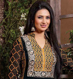 DIVYANKA TRIPATHI FROM YEH HAI MOHABBATEIN SALWAR SUIT WITH SHADED DUPATTA