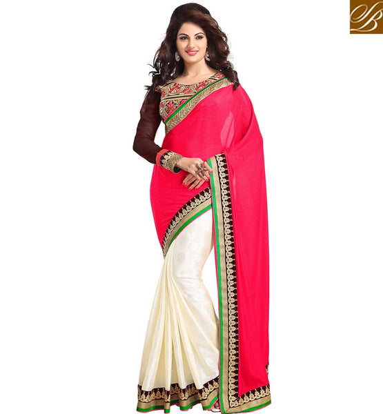 A STYLISH BAZAAR ENTHRALLING OCCASION WEAR SAREE DESIGN RTMDV1216