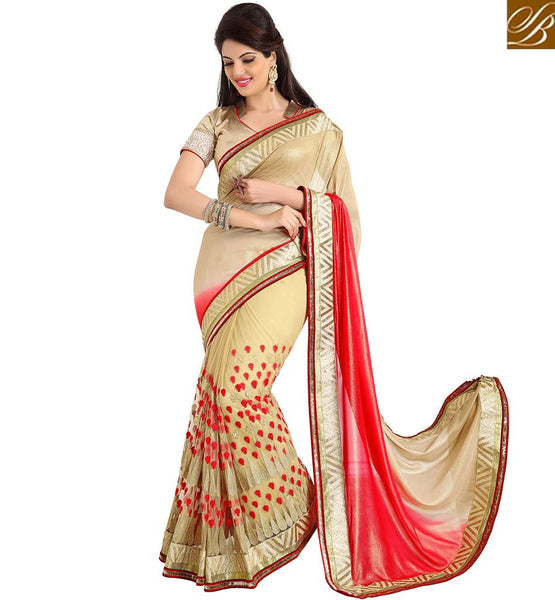 STYLISH BAZAAR PRESENTS GORGEOUS OCASSION WEAR DESIGN SARI RTMDV1218