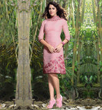 EVERSTYLISH PARTY WEAR LINEN KURTA TOPS ONLINE SHOPPING FOR WOMEN