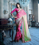 Chiffon and Georgette Printed Sari