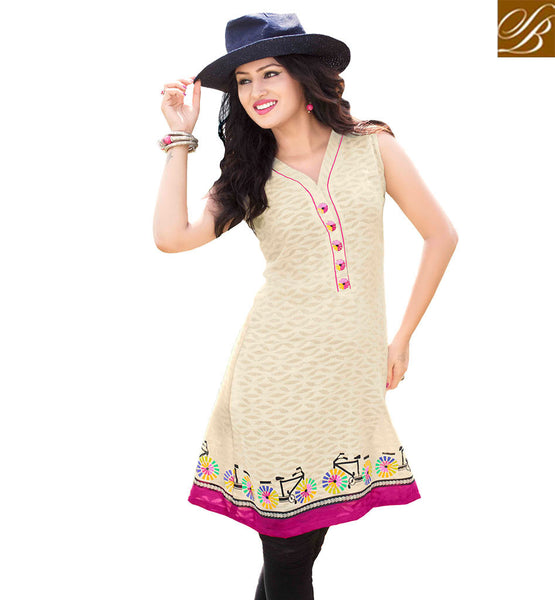 STYLISH BAZAAR CAPTIVATING KURTI DESIGN FOR PARTIES RTVANI126A