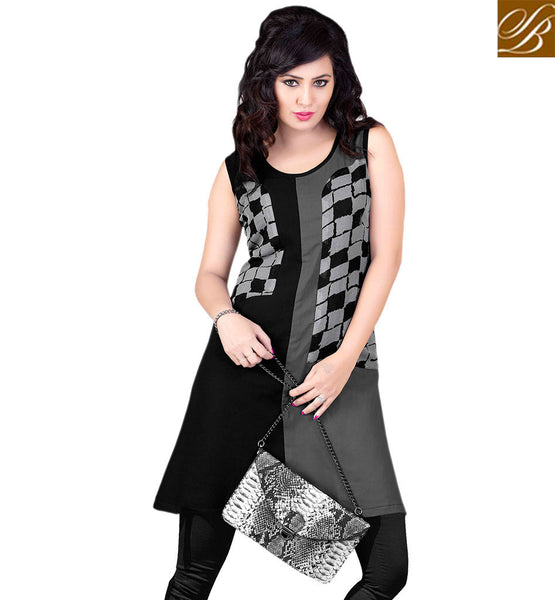 ENTHRALLING PARTY WEAR KURTI DESIGN RTVANI128A