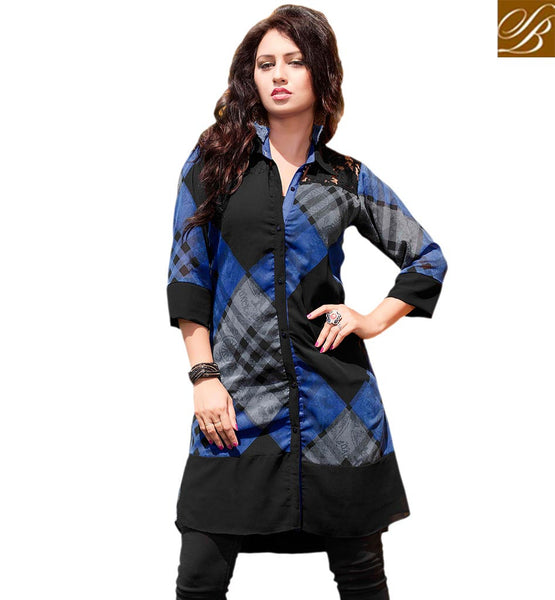 STYLISH BAZAAR EXQUISITE PARTY WEAR KURTI RTVANI129A