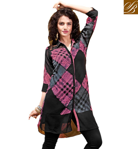 STYLISH BAZAAR FASCINATING KURTI DESIGN TAILOR MADE FOR PARTIES RTVANI129B