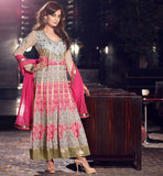 DIA MIRZA EXCITING JACKET STYLE ANARKALI RTVI13004 - STYLISHBAZAAR - Dia Mirza, online shopping Dia Mirzar anarkali suits, online shopping for Dia Mirza anarkali dress, online shopping of Bollywood anarkali suits, online shopping Dia Mirza anarkali dress, online shopping of anarkali,  Bollywood Celebrity Dia Mirza dress