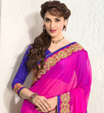 STYLISH SAREE BLOUSE PATTERNS FOR PARTY WEAR