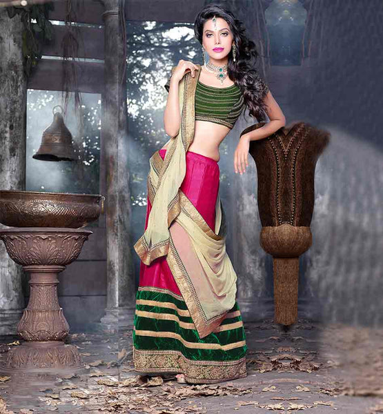 REASONABLE PRICE CHANIYA CHOLI WITH DUPATTA ONLINE SHOPPING INDIA