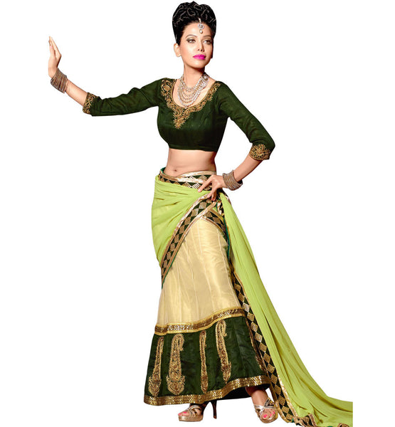 TRADITIONAL DESIGN CHANIYA CHOLI DUPATTA FOR MARRIAGE CEREMONIES