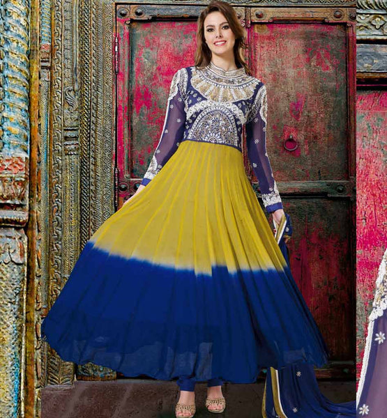 bollywood style party wear anarkali salwar suits
