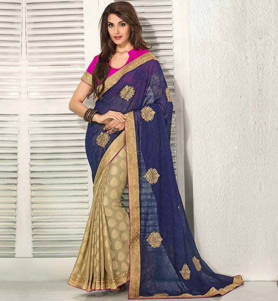 SAREE DESIGN 2015 SPECIAL OCCASION WEAR PATTERNS
