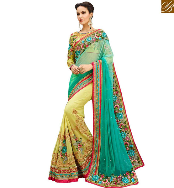FROM THE HOUSE OF STYLISH BAZAAR MARVELOUS PARTY WEAR SARI BLOUSE DESIGN RTHYB1311