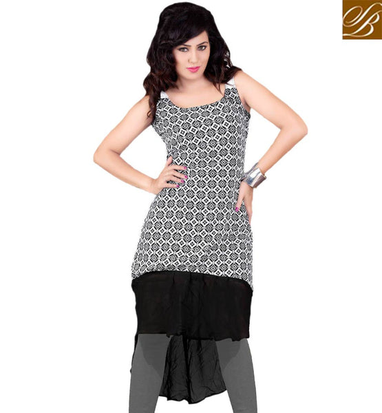STYLISH BAZAAR MARVELOUS KURTI DESIGN FOR PARTIES RTVANI131B