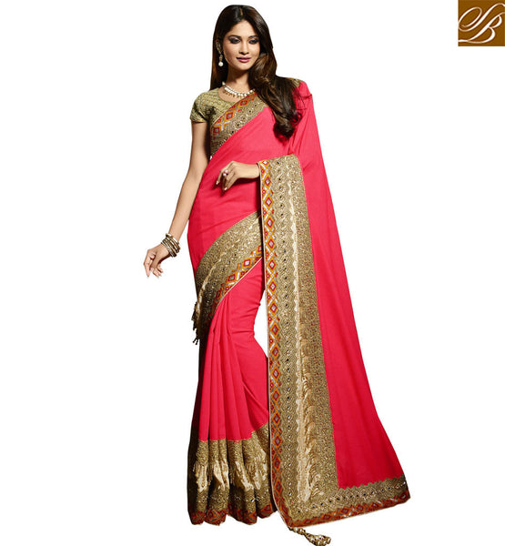 FASCINATING PARTY WEAR DESIGNER SAREE RTMNM1375