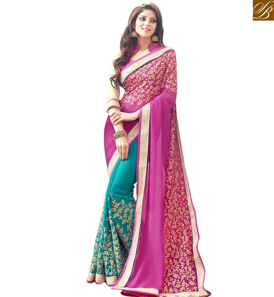 STYLISH BAZAAR PRESENTS EXCELLENTLY DESIGNED PARTY WEAR SAREE FOR ALL OCCASIONS RTSPL13803