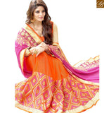 FROM THE HOUSE OF STYLISH BAZAAR EXCEPTIONALLY WELL DESIGNED GEORGETTE DESIGNER SARI RTSPL13805