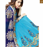STYLISH BAZAAR INTRODUCES DESIGNER PARTY WEAR SARI BLOUSE FOR ROYAL LOOK RTSPL13806
