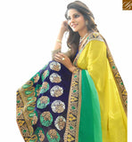 STYLISH BAZAAR INTRODUCES NOTEWORTHY DESIGNER EMBROIDERED SAREE AND BLOUSE RTSPL13815