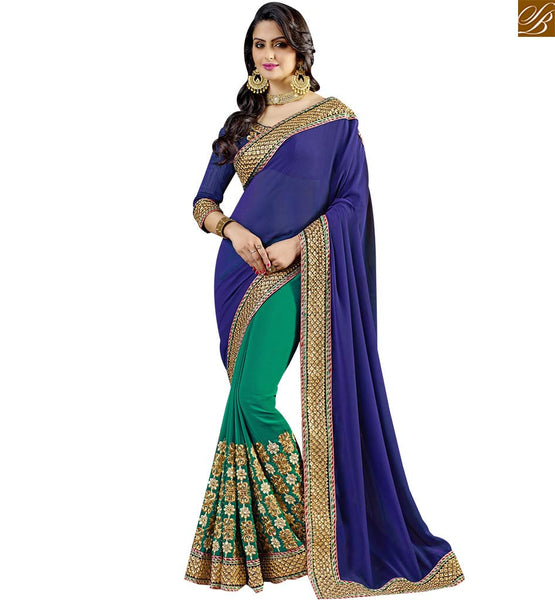 STYLISH BAZAAR ELITE LATEST DESIGN SAREE FOR PARTIES RTSPN13903