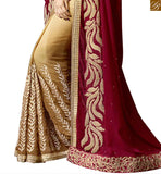 FROM STYLISH BAZAAR GLAMOROUS DESIGNER WOMEN SAREE ONLINE SHOPPING RTSPN13907