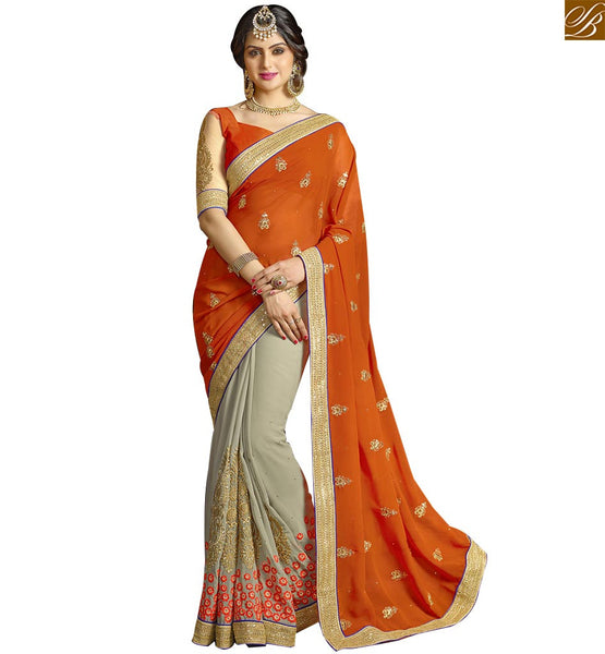STYLISH BAZAAR ATTRACTIVE SARI BLOUSE DESIGNER DESIGNS FOR PARTIES RTSPN13908