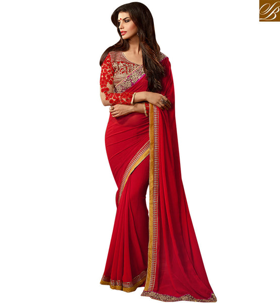 STYLISH BAZAAR PREMIUM DESIGNER SAREE DESIGN FOR PARTIES RTSSC14001