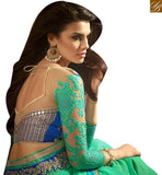 STYLISH BAZAAR INTRODUCES EXQUISITE PARTY WEAR SARI BLOUSE DESIGN RTSSC14010