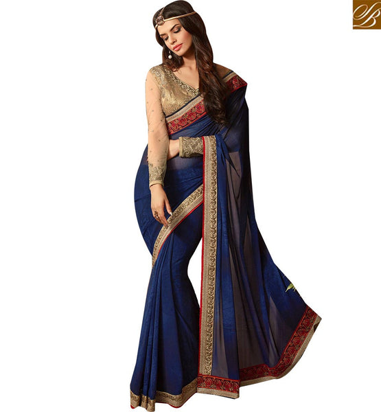 BROUGHT TO YOU BY STYLISH BAZAAR FINELY DESIGNED SAREE DESIGN FOR PARTIES RTSSC14013