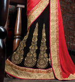 WEDDING WEAR LEHENGA SAREE ONLINE SHOPPING SUPERB EMBROIDREY