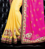PURCHASE NEW FASHION PARTY WEAR SAREE RICH PALLU DESIGNER BLOUSE