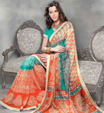 ORANGE & RAMA CASUAL SARI RTYOG1407