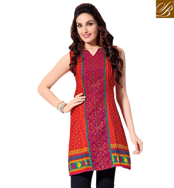 STYLISH BAZAAR SPECTACULAR KURTI DESIGN FOR PARTIES RTVANI141C