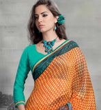 EYE-CATCHING CASUAL SARI RTYOG1421