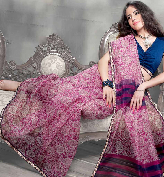 ATTRACTIVE CASUAL SARI RTYOG1430