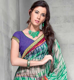 GREEN CASUAL SARI RTYOG1437