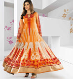 Long Gown style floor length Shaded Occasion wear Anarkali | Stylishbazaar Online Shop