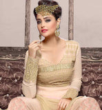 SALWAR KAMEEZ MATERIAL IS GEORGETTE AND THIS OFFER IS THE BEST IN SALWAR KAMEEZ ONLINE SHOPPING KARACHI PATTERN ZARI  AND EMBROIDERED APPAREL FOR WOMEN