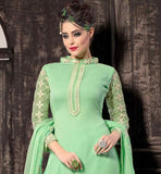 DESIGNER SALWAR KAMEEZ NECK DESIGNS LATEST SALWAR PATTERN IN FASHION INDUSTRY WITH DESIGNER PLAZZO