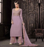 PURPLE SIMPLE SALWAR KAMEEZ SHOP ONLINE THESE STRAIGHT CUT SALWAR KAMEEZ DESIGNS LOOK VERY SOBER SO DON'T MISS ONLINE SALWAR KAMEEZ SHOPPING IN THIS SEASON